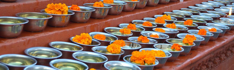 Holy flowers, Kathmandu (c) TRIAL