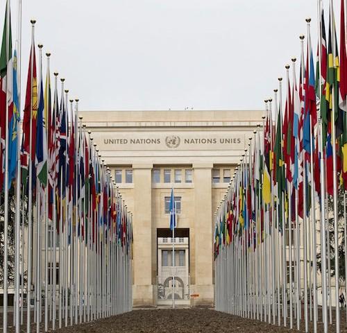 UN Palais des Nations, Geneva